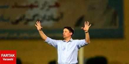 سرجیو: به بازیکنان تیمم تبریک میگویم