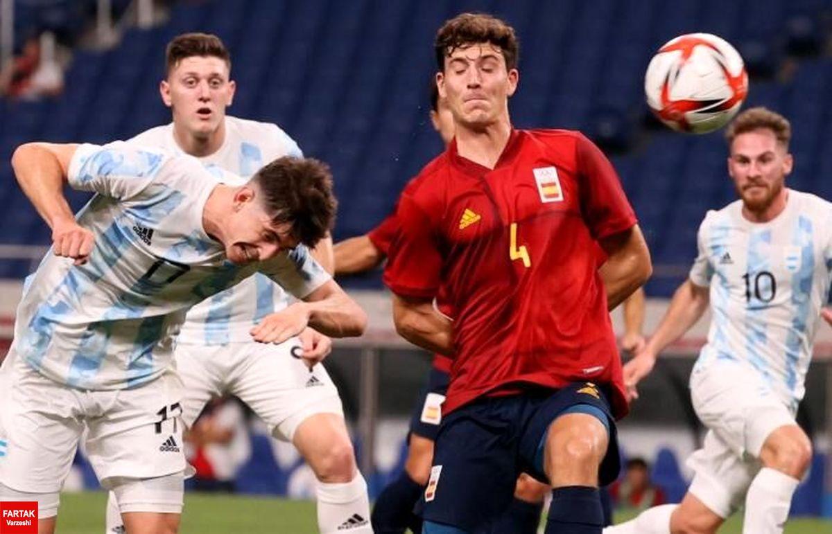 فوتبال المپیک توکیو؛ پایان مرحله گروهی با صدرنشینی اسپانیا و ژاپن