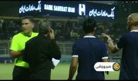 شکایت باشگاه استقلال از داور بازی با نفت مسجدسلیمان+فیلم