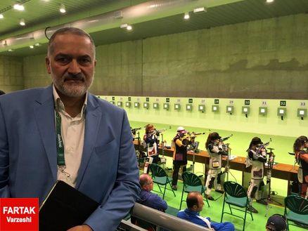 رئیس فدراسیون تیراندازی: تکرار عنوان ششم المپیک لندن کار ارزشمندی بود