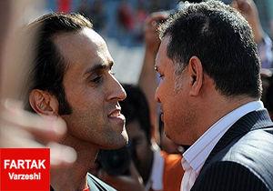 تقدیر و تشکر علی کریمی از باشگاه مس کرمان
