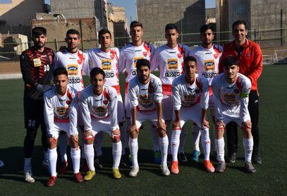 گزارش تصویری دیدار سایپا و پرسپولیس در لیگ برتر جوانان تهران