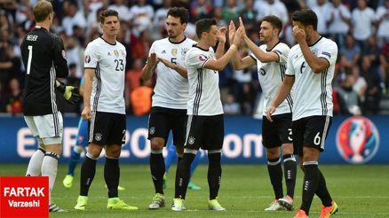 آلمان ، اسلواکی  را تحقیر کرد/ ژرمن ها قهرمانی می خواهند