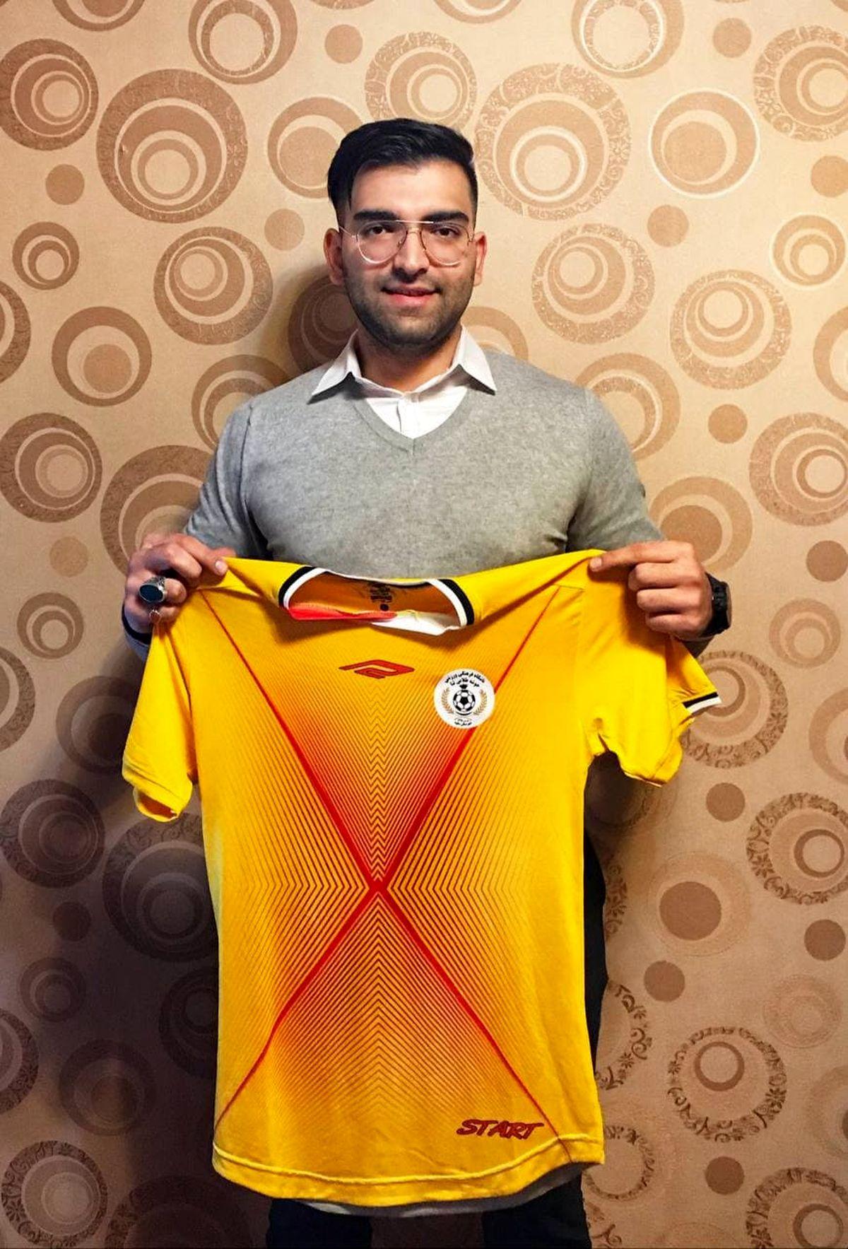 مدیر رسانهای تیم فوتبال خوشه طلایی ساوه انتخاب شد