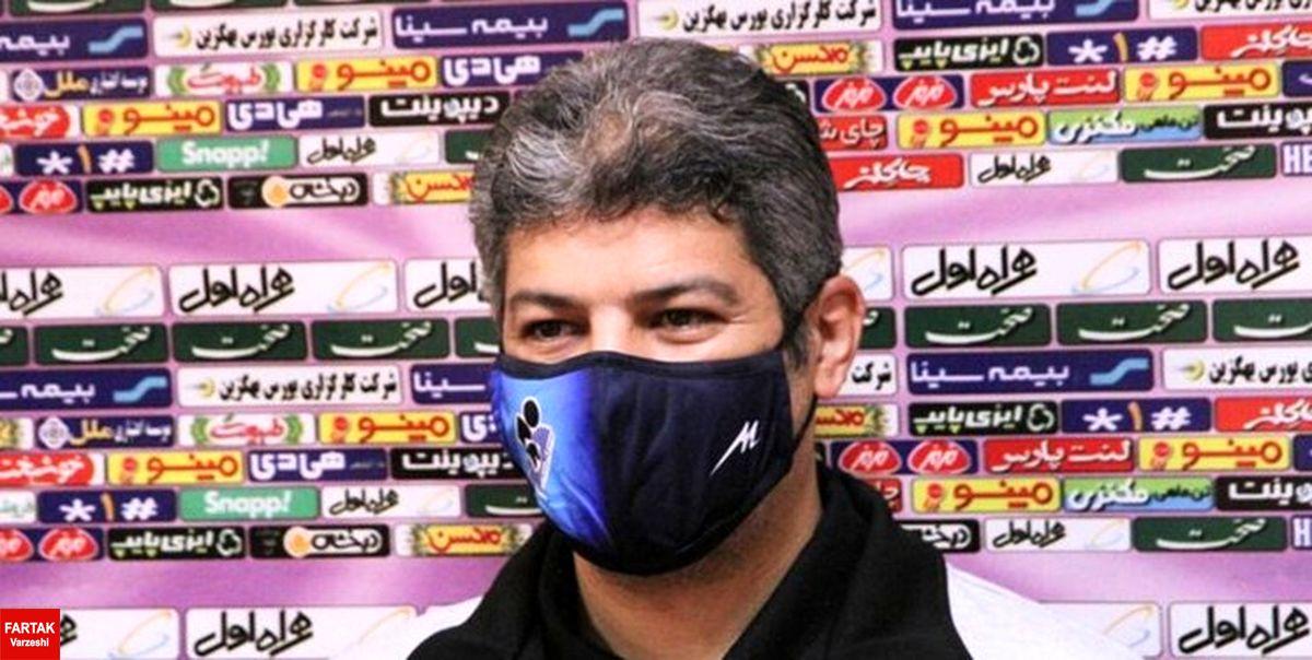 پاشایی: بازی با استقلال سختترین قرعه برای ما بود/ پیکان مظلوم ترین تیم لیگ است