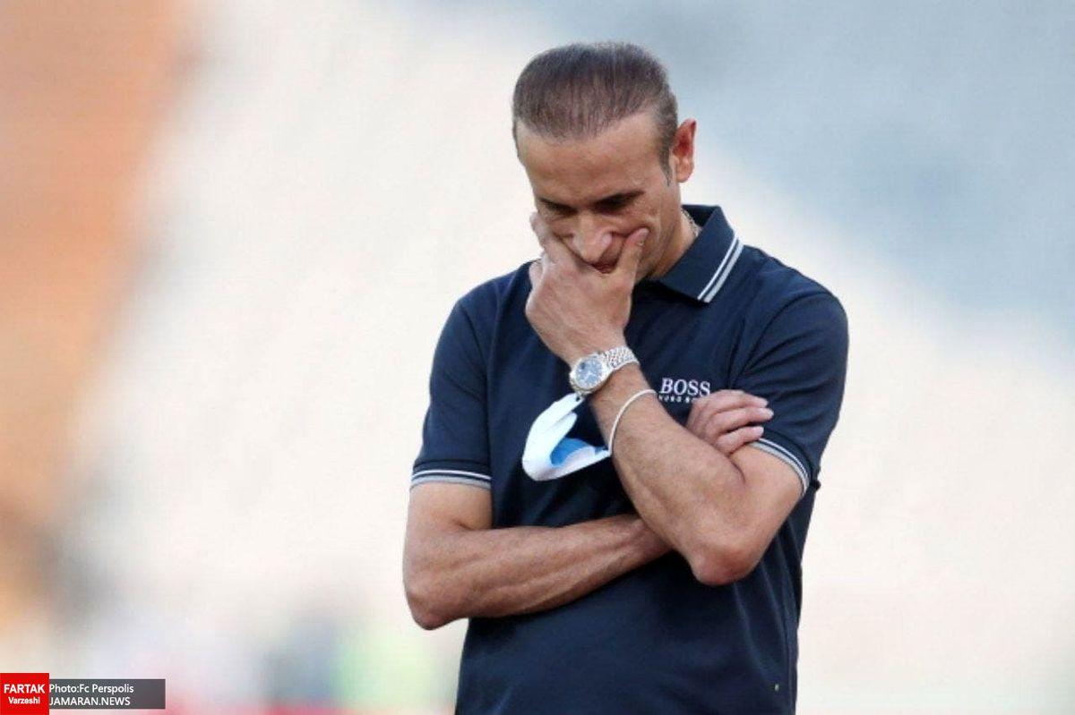 سهم گلمحمدی از بدترین شب پرسپولیس