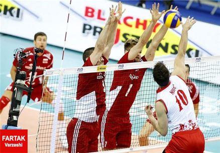 مرحله نهایی لیگ جهانی والیبال/ لهستان مغلوب صربستان شد