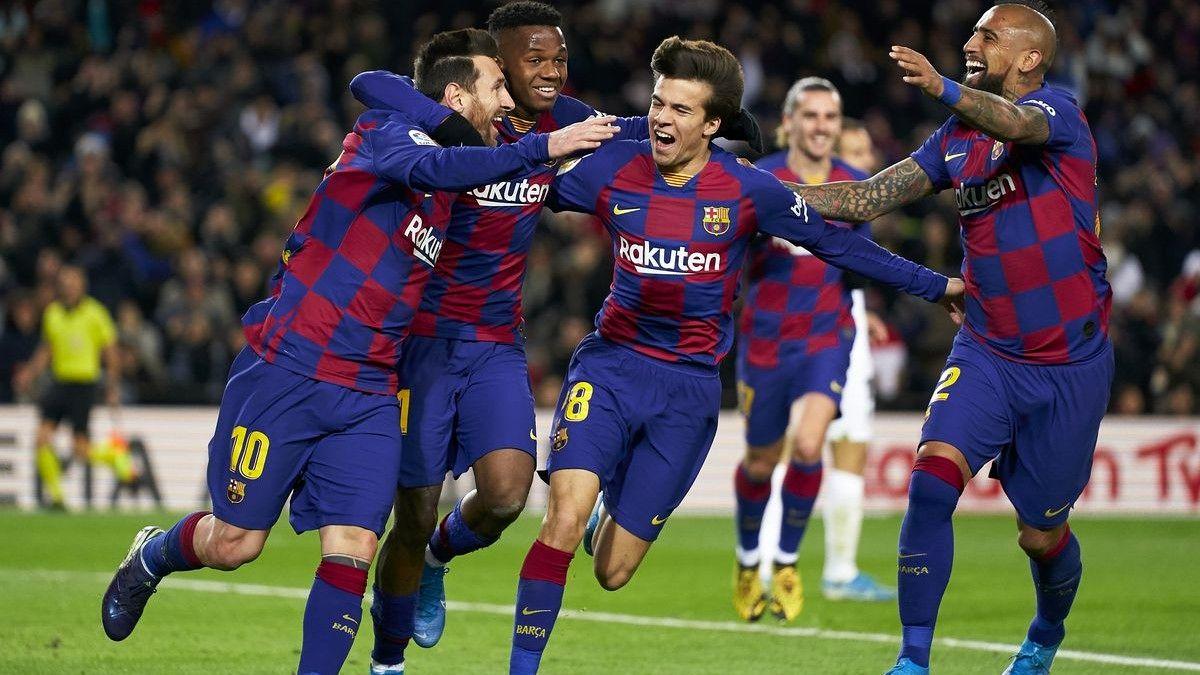 ترکیب دو تیم بارسلونا و اتلتیکومادرید برای مصاف با یک دیگر