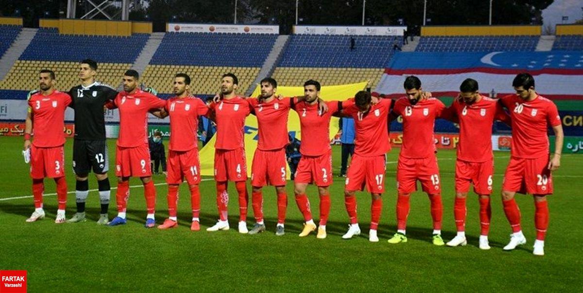 اعلام ساعت و ورزشگاه ۲ بازی ایران در انتخابی جام جهانی ۲۰۲۲