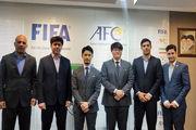 نمایندگان کنفدراسیون آسیا داوری فوتبال ایران را ارزیابی کردند