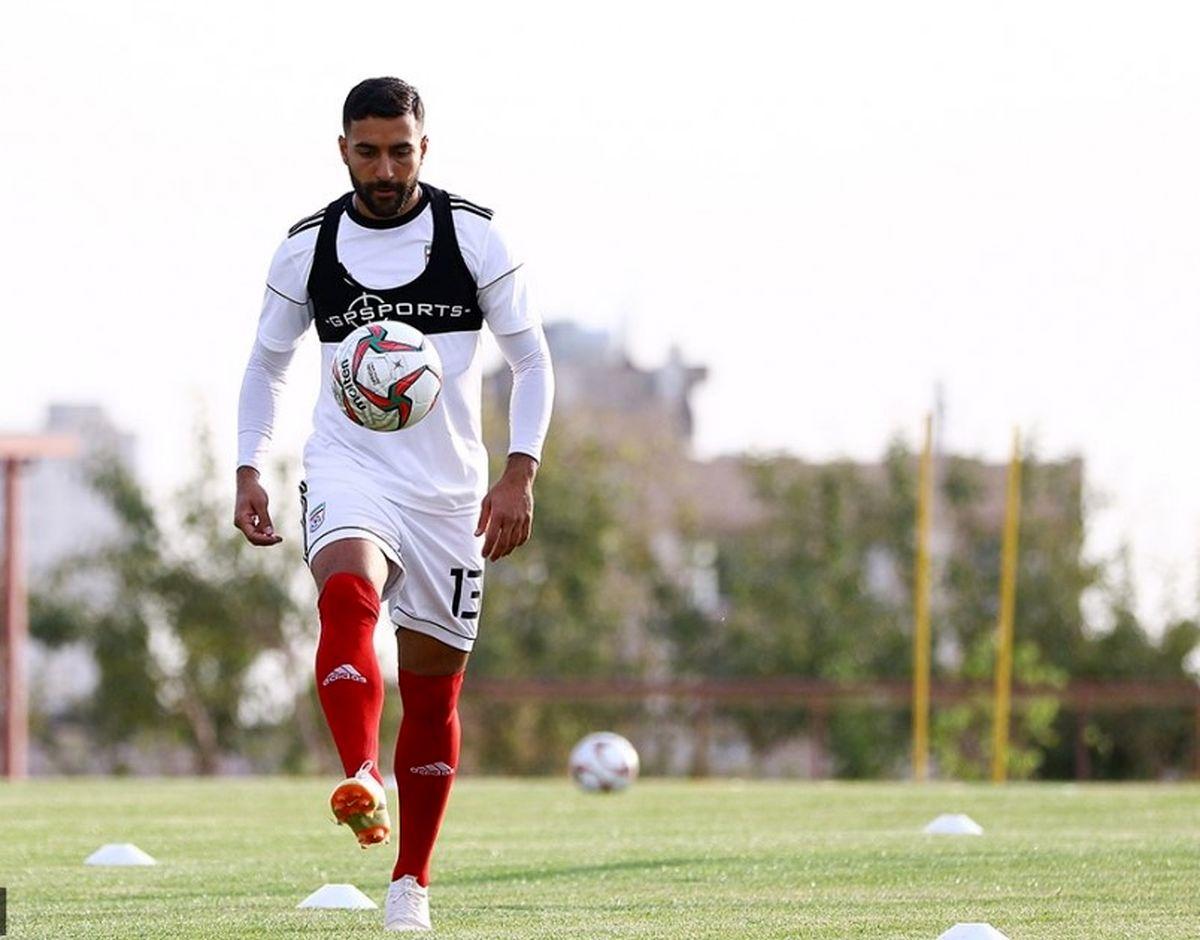 قدوس مشکلی برای حضور در اردوی تیم ملی ندارد