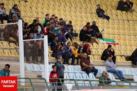 تماشاگران بدون رنگ کارون اروند خرمشهر (عکس)