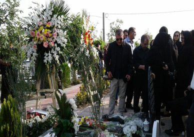 تصاویر/ مراسم چهلم مادر محمد ربیعی، سرمربی بادران تهران
