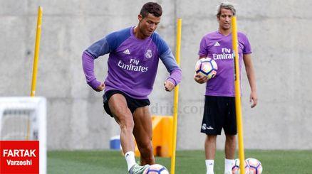 بازگشت رونالدو و بنزما به تمرینات رئال مادرید