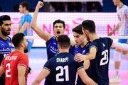 والیبال جوانان جهان| ایران موفق به شکست آرژانتین شد