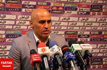 منصوریان: هنوز اشتباهات فردی بازیکنانمان رفع نشده است