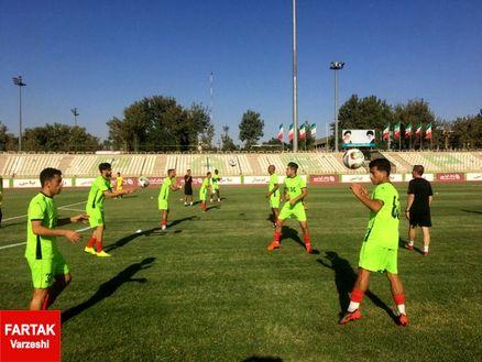 تمرین فردای فولاد خوزستان در محلی دیگر