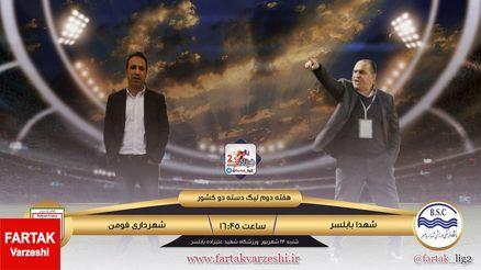 شهدای بابلسر - شهرداری فومن؛ جدال تیم های بحران زده برای فرار از انتهای جدول