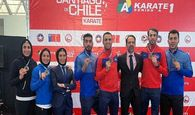 فردا زمان بازگشت تیم ملی کاراته به تهران