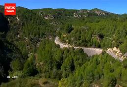 لحظاتی دیدنی رالی WRC 2017 از دوربین هوایی + فیلم
