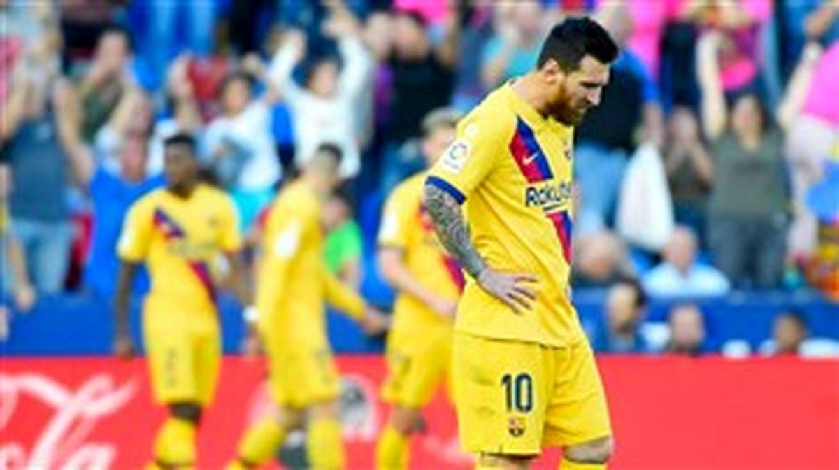 ترکیب اصلی بارسلونا برابر اسلاویا اعلام شد