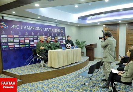 صحبتهای سرمربی الشرطه در کنفرانس خبری پیش از بازی مقابل استقلال