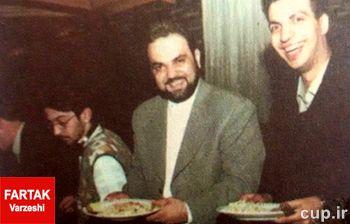 عکس نوستالژی/15 سال پیش/جواد خیابانی و عادل فردوسی پور در جشن پرسپولیسی ها