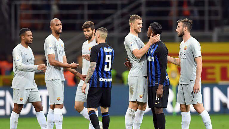 گزارش تصویری / اینترمیلان 1-0 آ اس رم