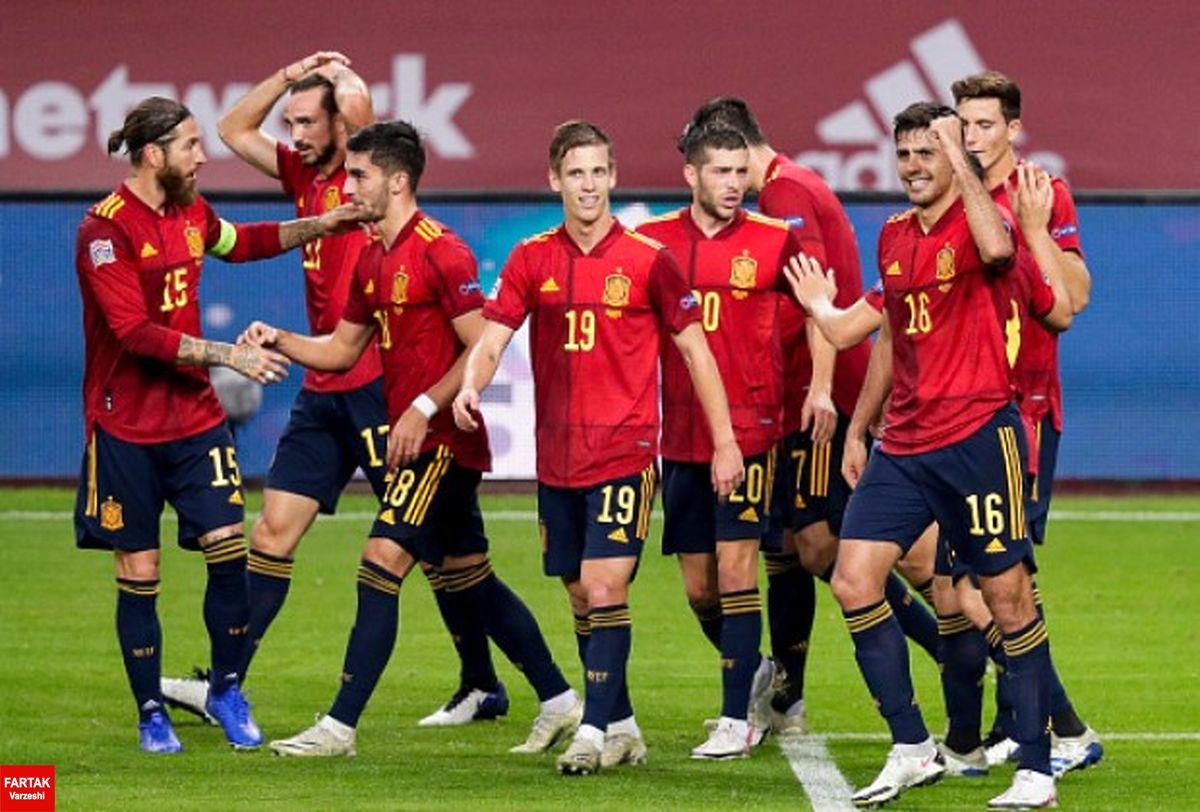لیست تیم ملی اسپانیا برای یورو 2020 اعلام شد