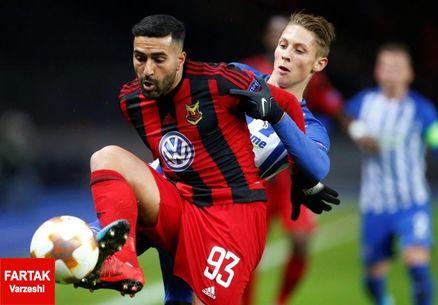 قدوس: رویایم حضور در یک لیگ بزرگ اروپایی است شاید این آخرین بازیام برای اوسترشوندس باشد