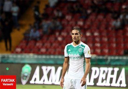 میلاد محمدی: بازی به بازی در ترک گروژنی بهتر می شو