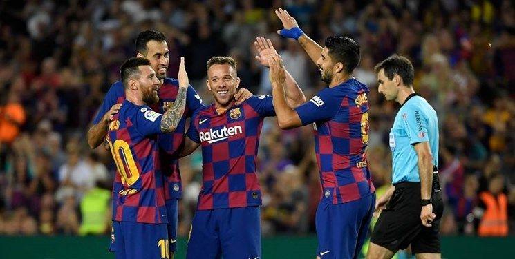 2.7 میانگین گل زده مسابقات هفته هشتم لالیگا اسپانیا