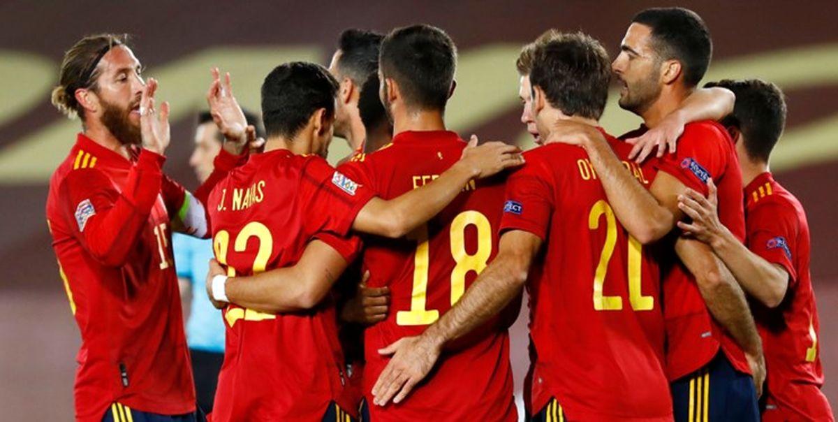 پیروزی انگلیس و کامبک اسپانیا