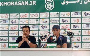 گل محمدی: بازیکنانم محک خوبی خوردند