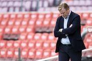 کومان در آستانه اخراج از تیم فوتبال بارسلونا