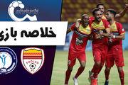 خلاصه بازی فولاد خوزستان 1 - گل گهر سیرجان 0 + فیلم