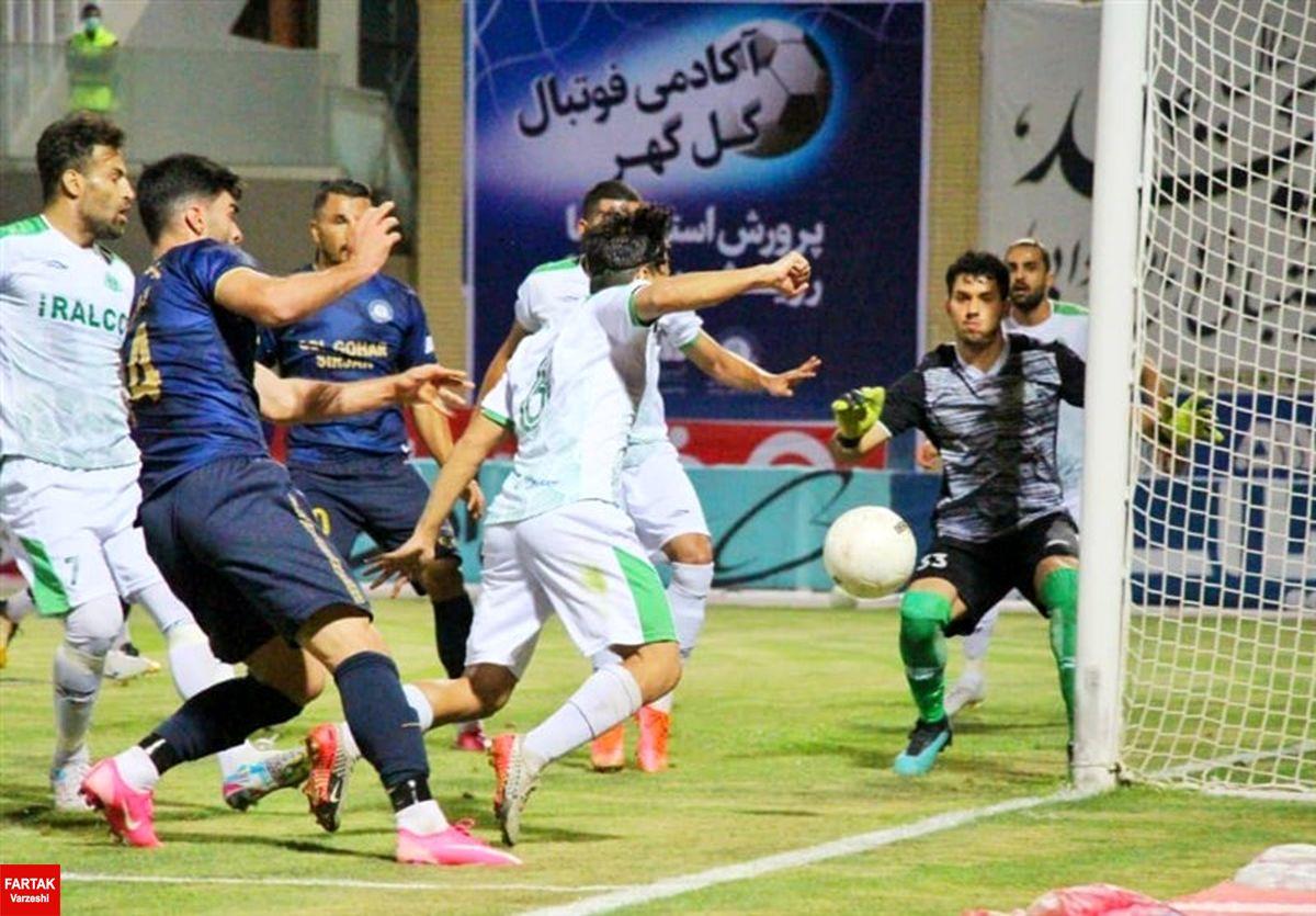 جام حذفی فوتبال  گلگهر به مرحله نیمه نهایی صعود کرد