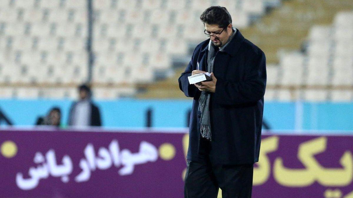 افاضلی: نگذاشتم بازیکنانم از حضور اسکوچیچ در ورزشگاه باخبر شوند