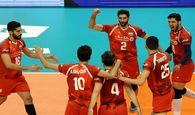 مشخص شدن حریفان تیم ملی والیبال ایران در مرحله دوم