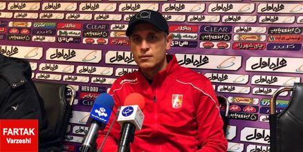 گلمحمدی: با تیمی بازی داریم که مدعی قهرمانی است/ امیدوارم ورزشگاه پر از تماشاگر باشد