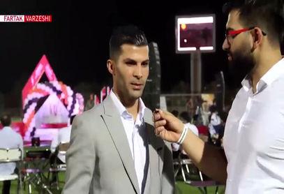 محمد پور محمد بازیکن مس رفسنجان: از تمامی بچههای تیم تشکر میکنم