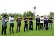 مراسم معارفه سرمربی جدید بادران برگزار شد