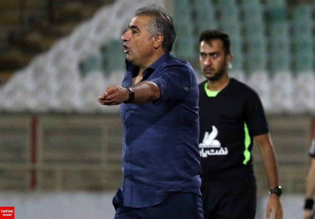 الهامی: تیمی که تا مرحله نیمه نهایی جام حذفی آمده ضعیف نیست