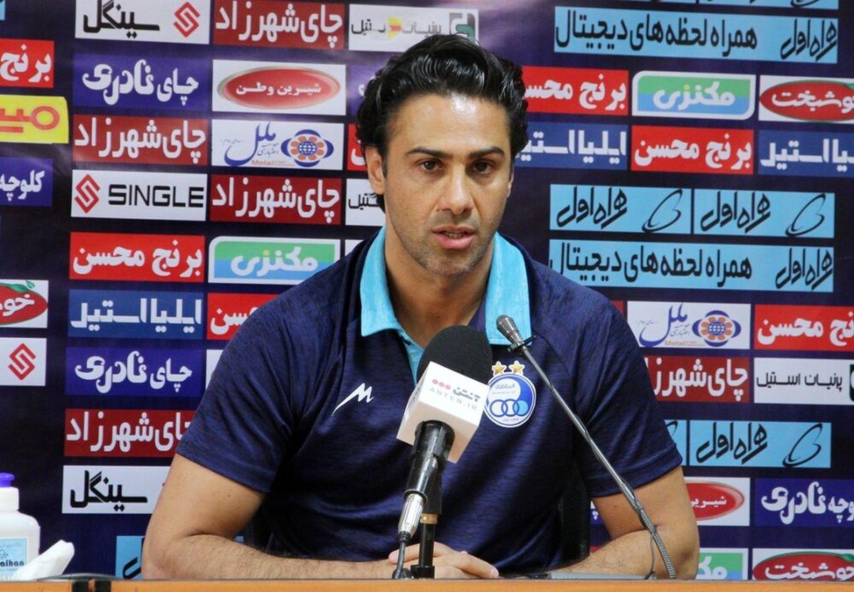 ملکیان: برنامه اصلی ما حمایت از سرمربی تیم فوتبال استقلال است
