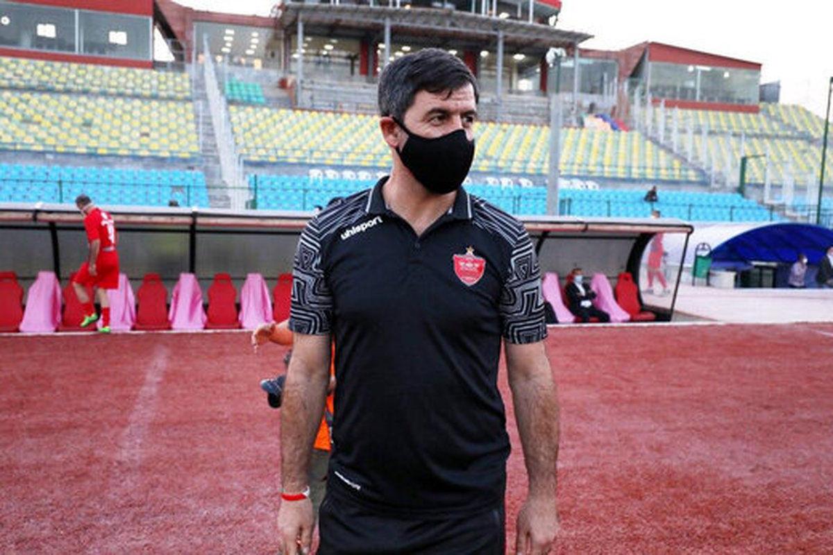 تلاش علی کریمی برای رد شدن از آقا کریم