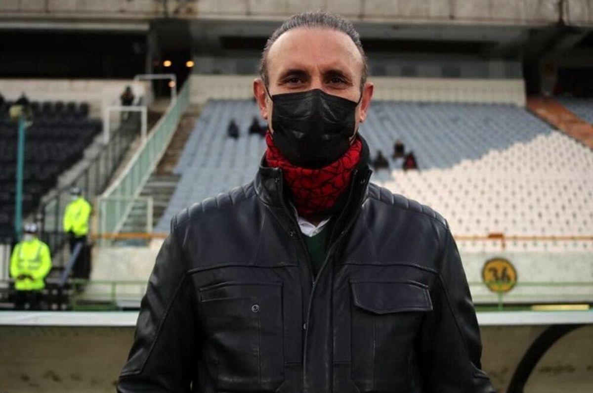 گلمحمدی: روی بازیکنان پرسپولیس فشار زیاد هست