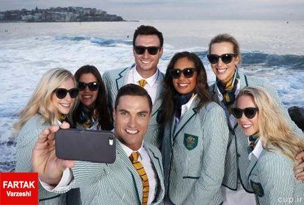 لباس رسمی ورزشکاران استرالیا دزدیده شد!