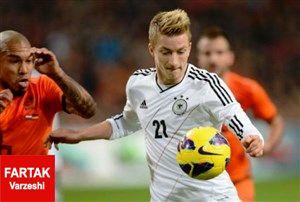 رونمایی از ترکیب اصلی دو تیم آلمان و هلند