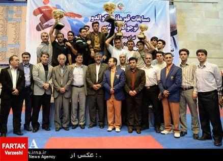 تهران فاتح پیکارهای قهرمانی تکواندو نوجوانان کشور
