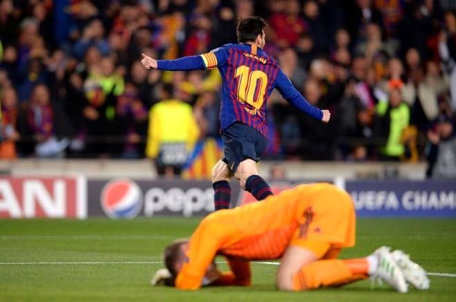 مسی: عالی و تماشایی بازی کردیم بارسلونای واقعی را به دنیا نشان دادیم